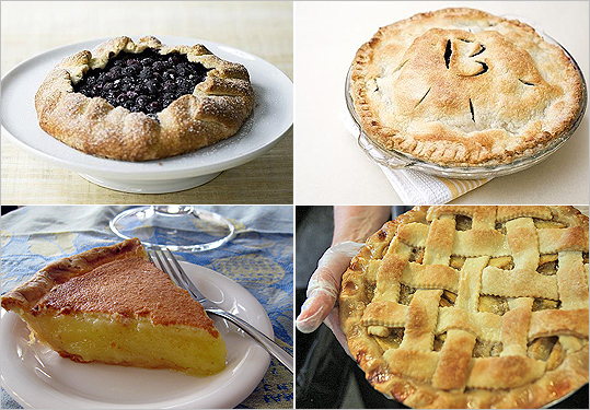 In honor of Pi Day (March 14 or 3.14 -- get it?), we decided to scour the Globe archives and pull out some of our favorite pie recipes. While pie and pi obviously have very different meanings, we can't imagine a sweeter reward for counting down all those numbers past the decimal -- can you?