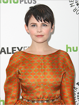 A page from the boys 'Once Upon a Time' actress Ginnifer Goodwin at the Paley Center For Media's PaleyFest 2012 at the Saban Theatre on March 4 in Beverly Hills, Calif.