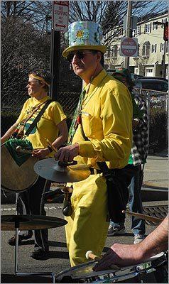 Alternative St. Patricks Parade in Boston