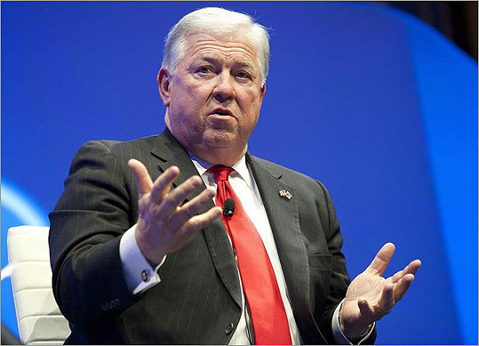 Haley Barbour, former governor of Miss. Barbour announced April 25, 2011, he would not be a candidate for the 2012 Republican presidential nomination. In a statement, he highlighted the grueling personal commitment that had made his wife, Marsha, wary of such a campaign. Barbour said he voted for Newt Gingrich in the Mississippi primary in March, but said that Romney is 'finally a real front-runner.'