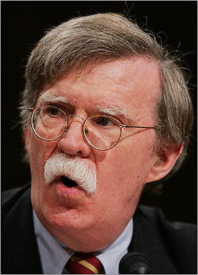 "Former UN ambassador John Bolton Bolton considered a run for president as late as August 2011, when he wrote in the conservative newspaper ""Human Events"" that if no Republican candidate makes the case that economic recovery is intertwined with strong national security, Bolton would get in the race. He later decided not to run. Bolton endorsed Mitt Romney on Jan. 11, saying Romney ""possesses the strongest vision for America's leadership role in the world."""