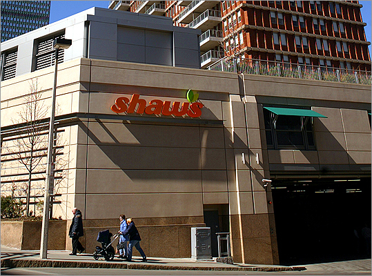The bottom five Shaw's Score: 69 www.shaws.com This chain with a ubiquitous Boston-area presence that includes Star Markets, received poor marks for prices, but good marks for cleanliness.