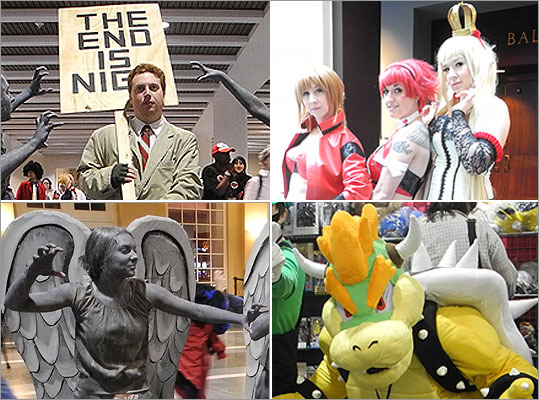 This year, Anime Boston, an annual three-day Japanese animation convention held at the Hynes Convention Center, drew a crowd of spectators and characters. Popular events at this year's convention included a masquerade, an anime music video contest, and karaoke. Take a look at scenes from this year's convention.
