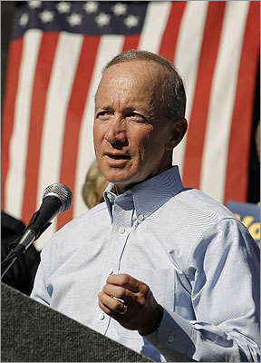 Mitch Daniels The Indiana governor is a former Office of Management and Budget chief under President George W. Bush, which some financial hawks view as a negative for him as well as Portman. He is term-limited and cannot seek reelection this fall, contributing to speculation that he might run for president. Daniels quashed it after discussions with his wife, but his blend of business background, budget experience, and time as a state executive also make him a hot vice presidential prospect. Some conservatives object to the budgets he helped craft during the Bush administration.
