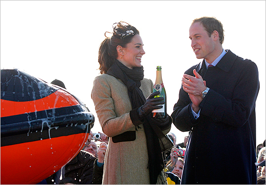 William and Kate in Wales