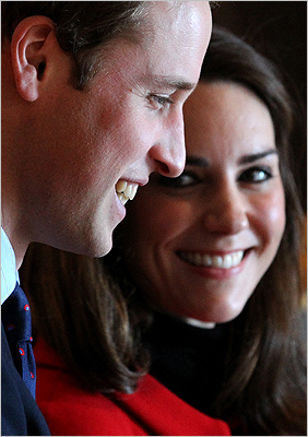 William and Kate at St. Andrews