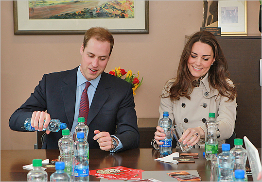 William and Kate at Youth Action Northern Ireland centre