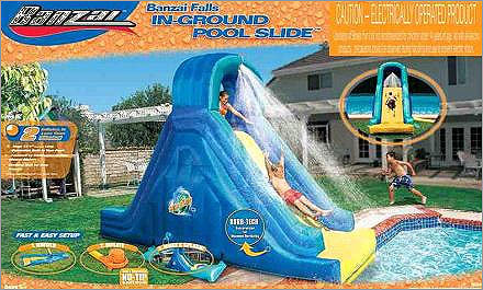 Woman's death in Andover prompts inflatable pool slide recall Date: May 10, 2012 Units: About 21,000 Walmart and Toys R Us recalled Banzai inflatable pool slides after a 29-year-old Colorado mother died in Andover. She fractured her neck going down the in-ground pool water slide and hit her head at the bottom of a partially deflated slide. Two other serious injuries were reported, including another fractured neck and leg paralysis.