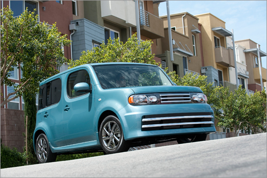 5. Nissan Cube The styling is admittedly not for everyone, but as as far as safety and security features go, the Cube is fully equipped, with supplemental front airbags with seatbelt and occupant-classification sensors, driver and front-passenger seat-mounted side-impact supplemental airbags and roof-mounted curtain side-impact supplemental airbags for front and rear-seat outboard occupant head protection. While the Cube will never win any drag races, many owners concur that its comfort and competent handling make it a good choice for city driving or short-distance highway runs. Search for a new Nissan