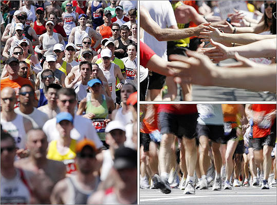 The 116th Annual Boston Marathon took place on April 16, 2012