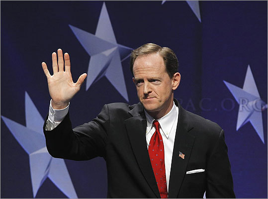 Pat Toomey The Pennsylvania senator comes from an important swing state. He also has conservative bona fides as a past president of the Club for Growth, an anti-spending group. Toomey is a graduate of Harvard University, a former member of the US House, and displaced a favorite conservative target, Republican-turned-Democrat Arlen Specter, in their state's 2010 US Senate race.
