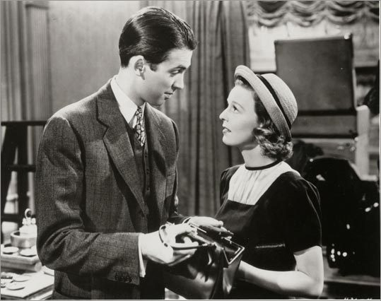 'The Shop Around the Corner' (1940) Starring Margaret Sullivan and James Stewart A small-office movie about what it's like to work for people and get to know everything about them, without always really wanting to. At the end of the day, they're family.