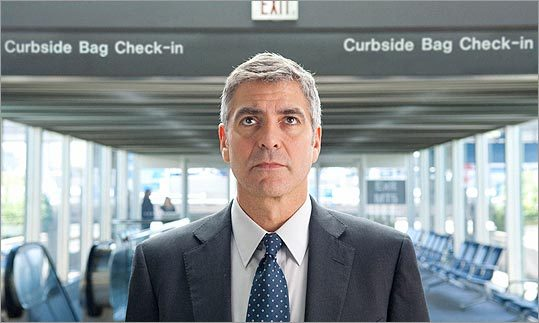 'Up in the Air' (2009) Starring George Clooney, Vera Farmiga, and Anna Kendrick With a job that has him traveling around the country firing people as a 'corporate downsizing expert,' Ryan Bingham leads an empty life out of a suitcase, until his company grounds him.
