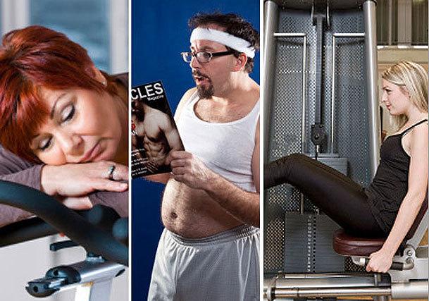 12 gym etiquette no-no's