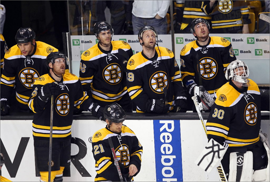 The Bruins are out of the NHL playoffs, and while the other teams battle to claim the Stanley Cup, Bruins management will be assessing the roster and deciding its strategy for the off-season. Eight players on the roster at the end of the season are unrestricted free agents, and backup goalie Tuukka Rask is a restricted free agent. Take a look at the factors involved in the decision the team must make about each player, see Globe hockey writer Kevin Paul Dupont's outlook for that player, and vote for the option you want them to choose.