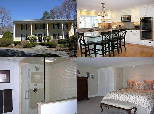 Avon Price: $500,000 Square feet: 3,620 on 1.2 acres Bedrooms: 5 Bathrooms: 4 full, 1 half Features: Georgian-style colonial with five bedrooms and four-and-a-half baths. First-floor au pair/guest suite. Near commuter rail. <a href='http://realestate.boston.com/sales/detail/268-l-19395-71364361/38-glendower-st-avon-ma-02322' class='bold'>View this listing | SEARCH <a href='http://realestate.boston.com/sales/avon-ma-usa?' class='bold'>Homes in Avon