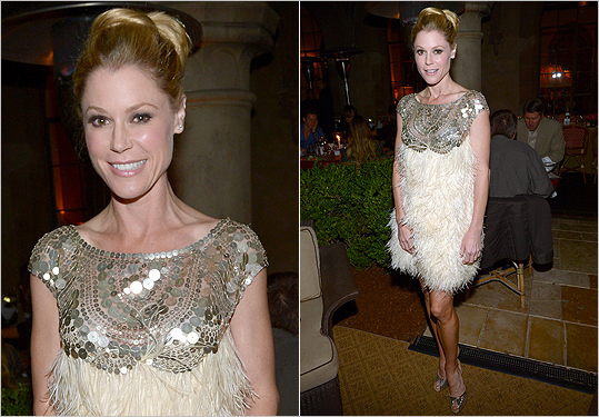 Julie Bowen in Naeem Khan