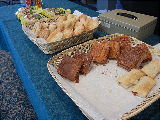 Some traditional food from the Domincan Republic was sold at the event.