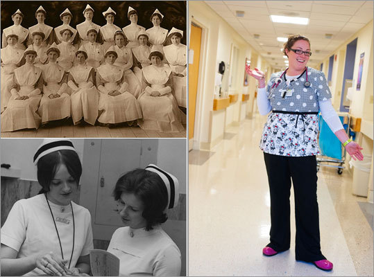 Nurses are often the first people patients interact with when they enter care. They aim to calm our nerves, soothe our wounds, and provide crucial care. Over the years, their responsibilities have changed, but not as dramatically as their uniforms. We've compiled a look back at nursing uniforms now and then from several area hospitals...