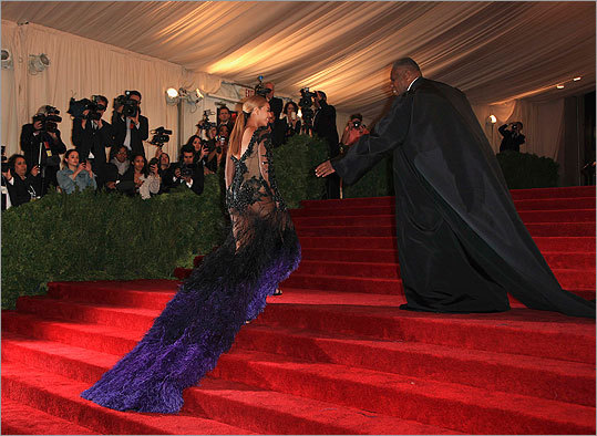 Beyonce Knowles, Andre Leon Talley