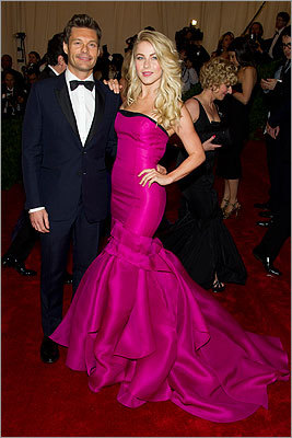 Ryan Seacrest and Julianne Hough