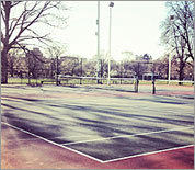 Boston-area tennis courts