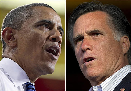 Click through to see some of President Obama's and presidential contender Mitt Romney's ads from the campaign trail.