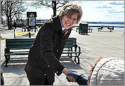 Brown, Warren on the campaign trail
