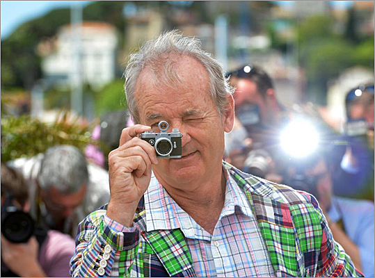 Bill Murray, Cannes, Moonrise Kingdom