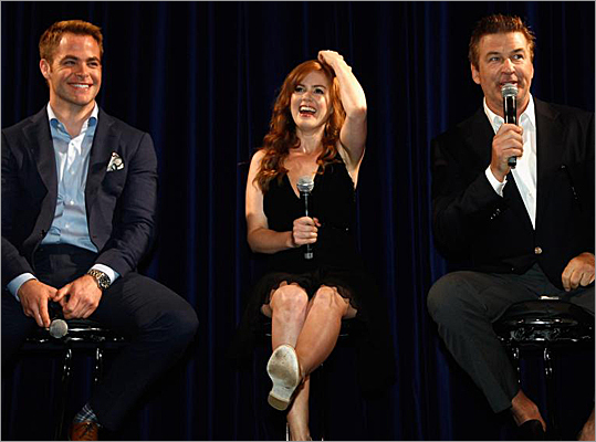 Chris Pine, Isla Fisher, Alec Baldwin, Cannes, Rise of the Guardians