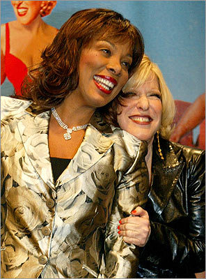 Donna Summer, Bette Midler