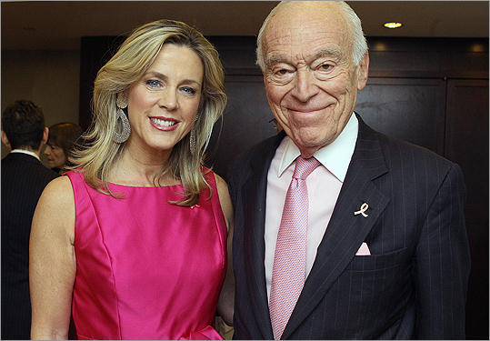 May 17 in Boston Deborah Norville and Leonard A. Lauder.