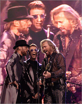 Maurice, Robin and Barry Gibb