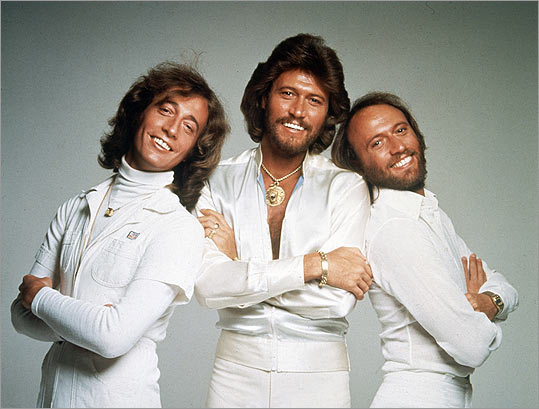 Robin Gibb, Barry Gibb and Maurice Gibb
