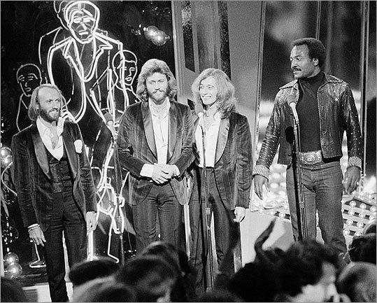 Maurice, Barry and Robin Gibb,