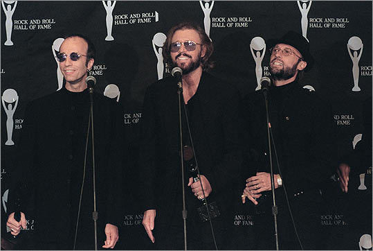 Robin, Barry and Maurice Gibb