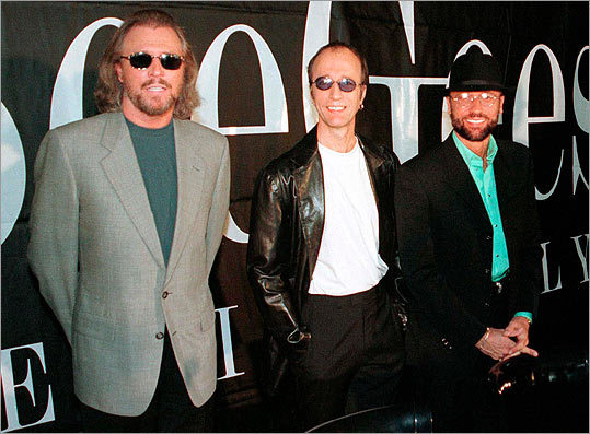 Barry Gibb, Robin Gibb and Maurice Gibb