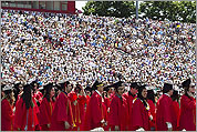 Scenes from BU's commencement