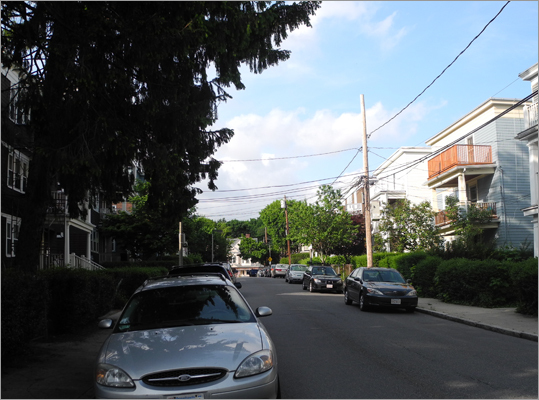 Second, it is also important to remember that only one sign per block, or every 200 feet, is necessary to prohibit parking on that block in accordance with a regulation. If there are no signs at all on either side of the street for that block, then a vehicle may park at that location for up to 72 hours. Third, even without signage, commercial vehicles are prohibited from parking on a residential street between the hours of 9 p.m. and 8 a.m. Finally, signage is not needed to prohibit parking in violation of public safety regulations, such as at handicap ramps, at crosswalks, within 20 feet of an intersection, etc.