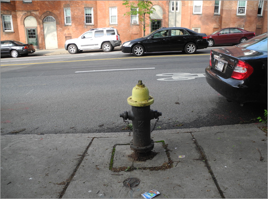 Can I park next to this fire hydrant?