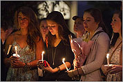 BU holds vigil for students killed in crash
