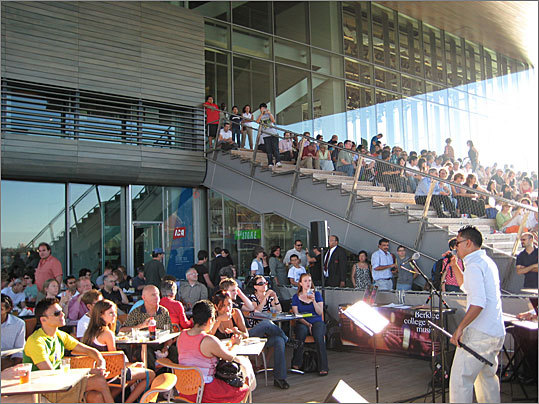 Harborwalk Sounds July 12-Aug. 30, Thursdays, 6-8:30 p.m. Free. Institute of Contemporary Art. 617-478-3100, icaboston.org Drawing on Berklee College of Music's well of gifted musicians, this annual series on the waterfront is a good excuse to hear up-and-coming talent in a picturesque setting. Playing: Holiday Mountain (Aug. 16). Stay tuned to the ICA's website for the lineup announcement for the DJs on the Harbor series, which takes over Friday nights Aug. 10-31.