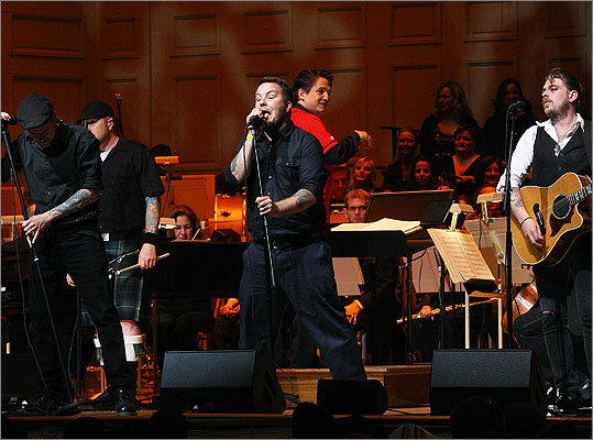 May 24 in Boston Dropkick Murphys performed with The Boston Pops and conductor Keith Lockhart.