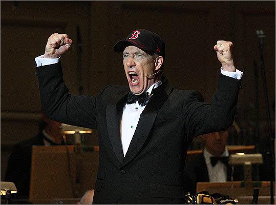 May 24 in Boston Baritone James Demler, narrator of The Boston Baseball Cantata.