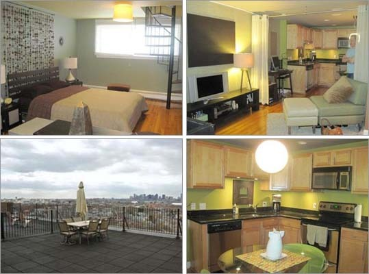 Chelsea 44 Lafayette Ave. Price: $139,900 Square feet: 658 Bedrooms: 1 Bathrooms: 1 full Features: This two-level one bedroom condo comes with stainless steel and granite kitchen, a living room, spiral stairs to the bedroom and a common roofdeck, according to its listing. <a href='http://realestate.boston.com/sales/detail/268-l-4894-71367634/44-lafayette-avenue-chelsea-chelsea-ma-02150' class='bold'>View this listing | SEARCH <a href='http://realestate.boston.com/sales/chelsea-ma-usa' class='bold'>Homes in Chelsea