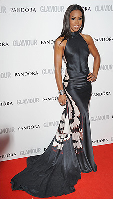 Hit: Kelly Rowland The (UK) X-Factor judge took home TV Personality of the Year at the 2012 Glamour Women of the Year Awards on May 29 but we'd like to cast a vote for best dressed of the night. The songstress topped out Lea Michelle in Zac Posen and Lily Collins in Alexander McQueen with a stunning gown by Maria Grachvogel.