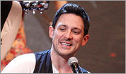 Steve Kazee and the cast of 'Once'