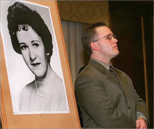 Author Casey Sherman chronicled his aunt Mary Sullivan's murder in his book, 'A Rose for Mary: The Hunt for the Real Boston Strangler.'' Sherman believed DeSalvo did not kill his aunt and instead pointed to a golf instructor living in New Hampshire as the killer. In this 2000 photo, Sherman attended a press conference at the Parker House where he called on officials to release evidence for further forensic testing in his aunt's death. Read more