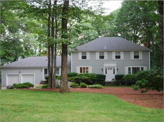 $539,900 This home is located at the end of a cul-de-sac. It has a front-to-back eat-in kitchen with maple floors, a family room with a fireplace, and a screened in porch, according to its listing. The home has a newer roof, furnace, and water heater. View the listing