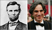 Portrayals of Honest Abe in film and Television